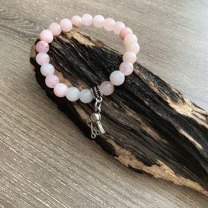 Jewelry - Beautiful Cherry Blossom Jasper bead bracelets